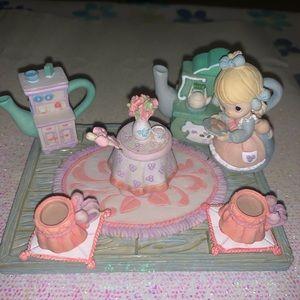 Vintage Enesco Precious Moments Mini Tea Set